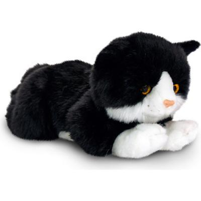 Keel Toys Smudge Black Cat 30cm