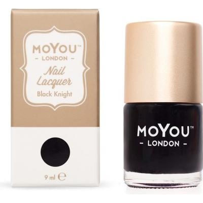 MoYou London Stamping Nail Polish Black Knight 9ml