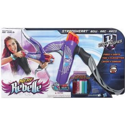 Nerf Rebelle Secrets & Spies Strongheart Bow Blaster