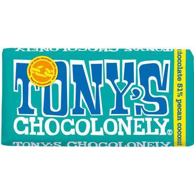Tony's Chocolonely Dark Chocolate Pecan Coconut
