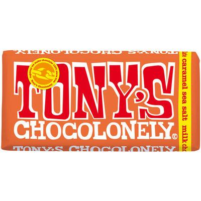 Tony's Chocolonely Milk Chocolate Caramel Seasalt