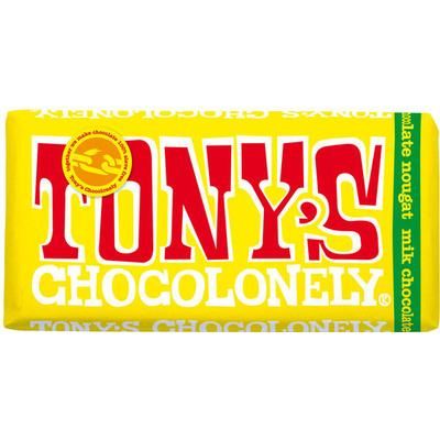Tony's Chocolonely Milk Chocolate Nougat 180g