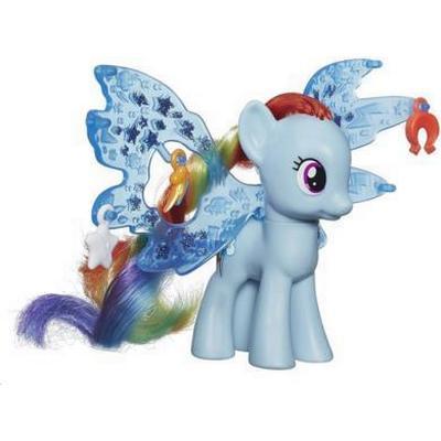 Hasbro My Little Pony Cutie Mark Magic Friendship Charm Wings Rainbow Dash Figure B0671