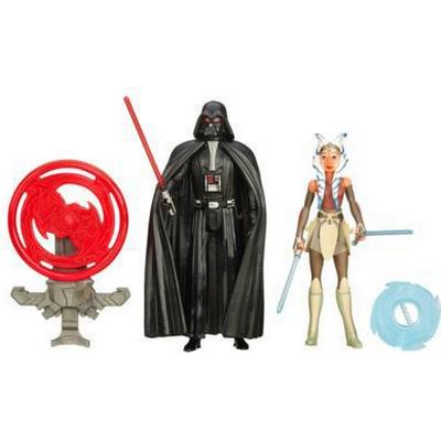 "Hasbro Star Wars Rebels 3.75"" Figure 2 Pack Space Mission Darth Vader & Ahsoka Tano B3959"