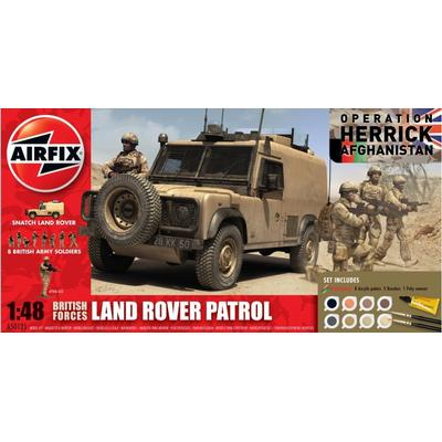 Airfix British Forces Land Rover Patrol Gift Set A50121