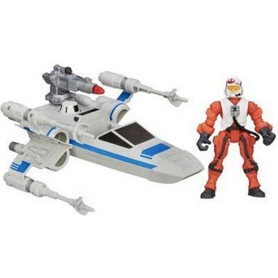 Hasbro Star Wars Hero Mashers Episode 7 Resistance X Wing & Resistance Pilot B3702