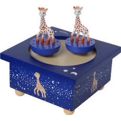 Trousselier Musical Wooden Box Sophie The Giraffe Milky Way