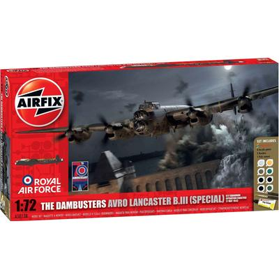 Airfix The Dambusters Avro Lancaster B III Special Operation Chastise Gift Set A50138