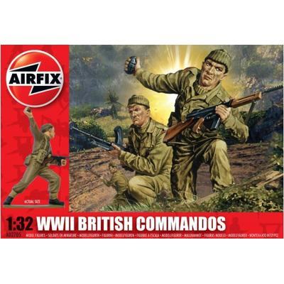 Airfix WWII British Commandos A02705