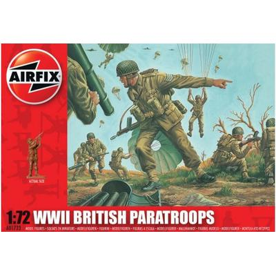 Airfix WWII British Paratroops A01723