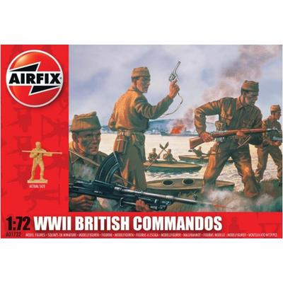Airfix WWII British Commandos A01732