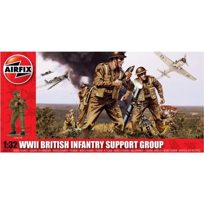 Airfix WWII British Infantry Support Group A04710