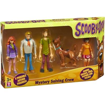 Character Scooby Doo Mystery Solving Crew