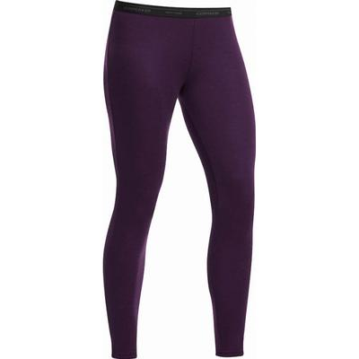 Icebreaker Womens Everyday Leggings Vino (101306)