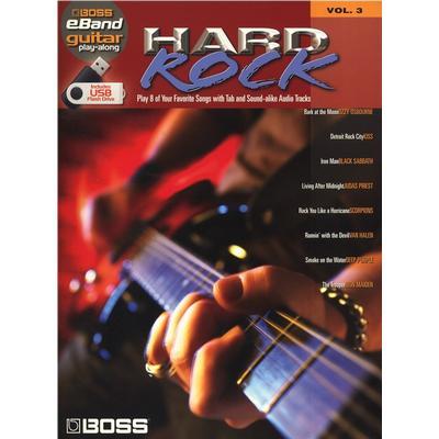 Boss Hard Rock Guitar Play Along Volume 3