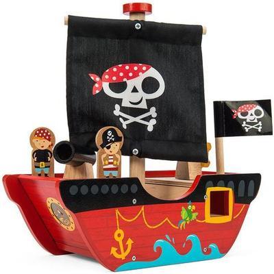 Le Toy Van Little Capt'n Pirate Boat