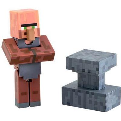 Jinx Minecraft Blacksmith Villager Action Figure