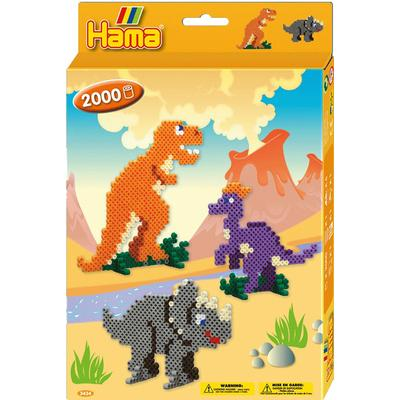 Hama Midi Beads Dinosaurs Gift Set 3434