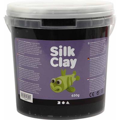 Silk Clay Black Clay 650g