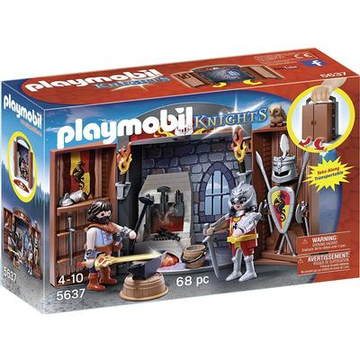 Playmobil Knights Armory Play Box 5637