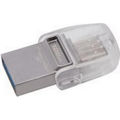 Kingston DataTraveler MicroDuo 3C 128GB USB 3.1