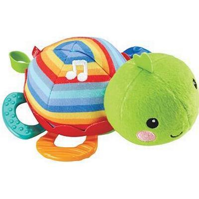 Fisher Price Sköldpadda Bitleksak och Speldosa