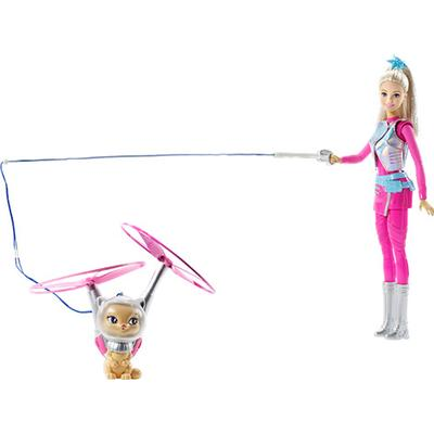 Mattel Barbie Star Light Adventure Barbie Doll & Flying Cat