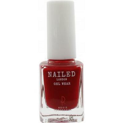 Nailed London Gel Wear Nail Polish Rosie's Red 10ml