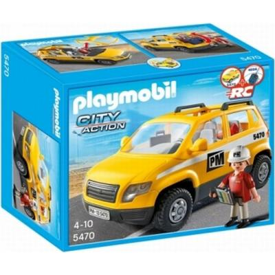 Playmobil Construction Site Supervisors Vehicle 5470