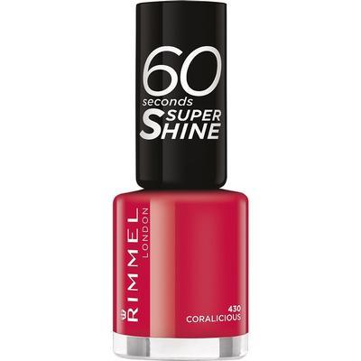 Rimmel 60 Seconds Super Shine Nail Polish Coralicious 8ml