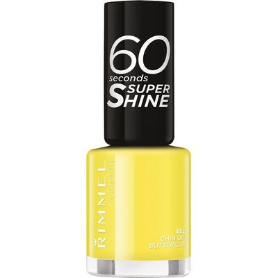 Rimmel 60 Seconds Super Shine Nail Polish Chin Up Buttercup 8ml