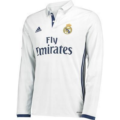 Adidas Real Madrid Home LS Jersey 16/17 Sr