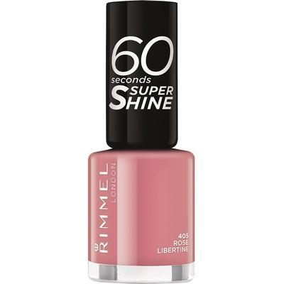 Rimmel 60 Seconds Super Shine Nail Polish Rose Libertine 8ml