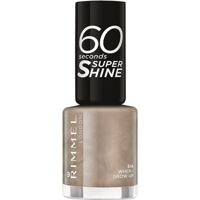 Rimmel 60 Seconds Super Shine Nail Polish When I Grow Up 8ml