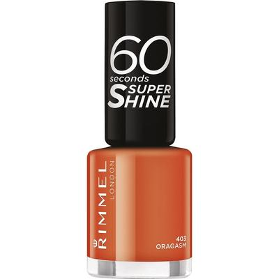 Rimmel 60 Seconds Super Shine Nail Polish Oragasm 8ml