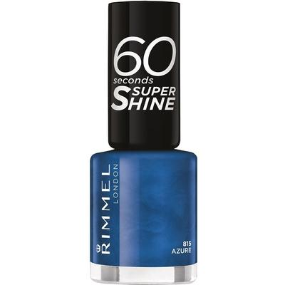 Rimmel 60 Seconds Super Shine Nail Polish Azure 8ml