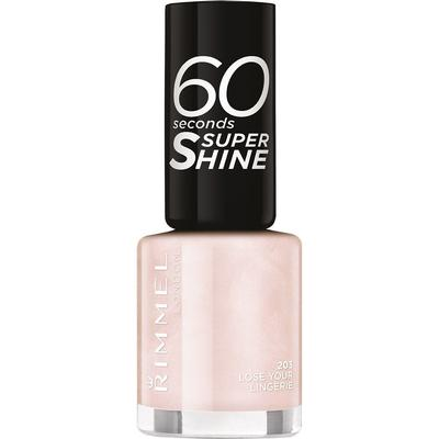 Rimmel 60 Seconds Super Shine Nail Polish Lose Your Lingerie 8ml