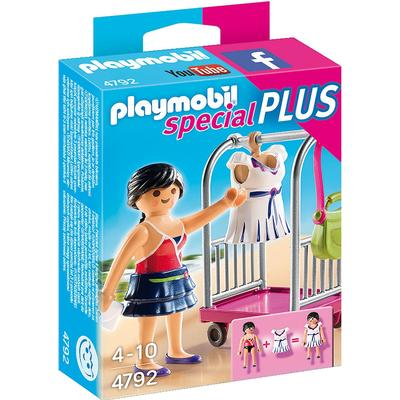 Playmobil Model with Clothing Rack 4792