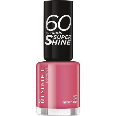 Rimmel 60 Seconds Super Shine Nail Polish Hot Tropicana 8ml