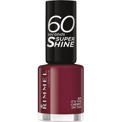 Rimmel 60 Seconds Super Shine Nail Polish It's the Cherry on Top 8ml