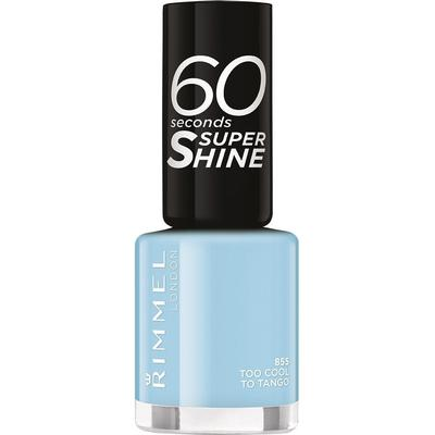 Rimmel 60 Seconds Super Shine Nail Polish Too Cool To Tango 8ml