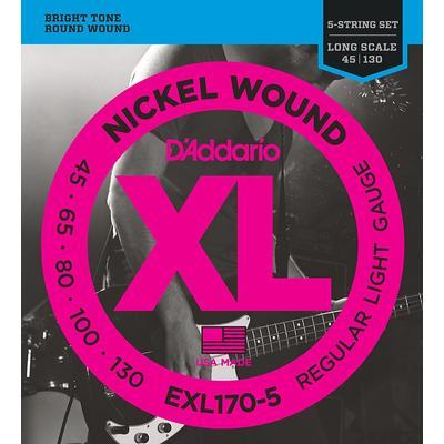 D'Addario EXL170-5