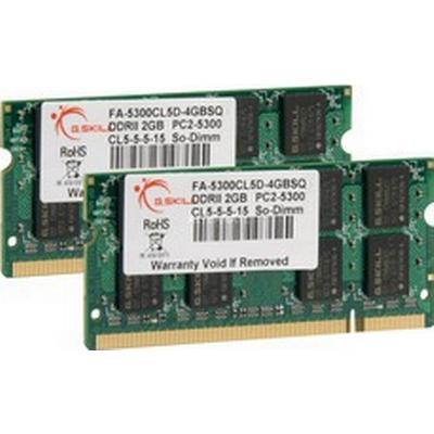 G.Skill DDR2 667MHz 2x2GB Fro Apple Mac (FA-5300CL5D-4GBSQ)