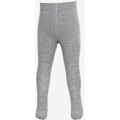 Go Baby Go Crawling Tights Wool - Grey Melange