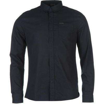 Firetrap Basic Oxford Shirt Navy (55591222)