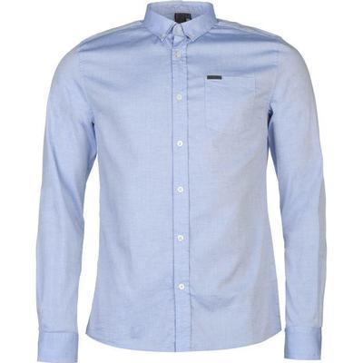 Firetrap Basic Oxford Shirt Blue (55591218)