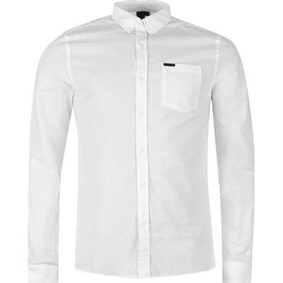 Firetrap Basic Oxford Shirt White (55591201)