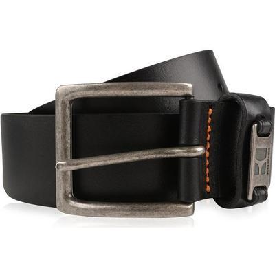 Hugo Boss Branded Metal Loop Leather Belt Black (50180958)
