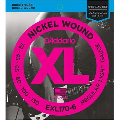 D'Addario EXL170-6