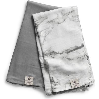 Elodie Details Bamboo Muslin Blanket Marble Grey